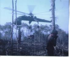 Building Chu Moor Firebase - LZ C Ration
