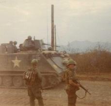 Sweep of Kontum with armor Tet 1968