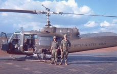 Me with a ROK and Huey B Gunship