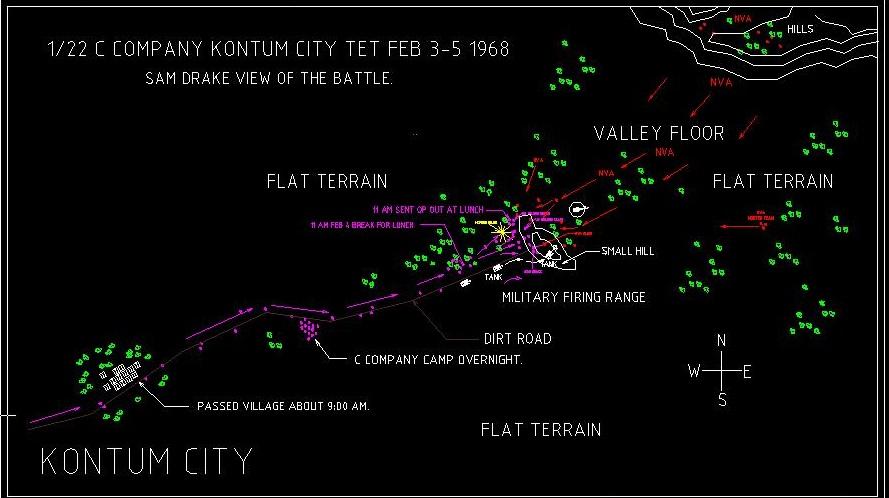 Battle Of Kontum Charlie Company Vietnam 1966 1972