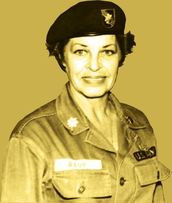 Martha Raye in Uniform