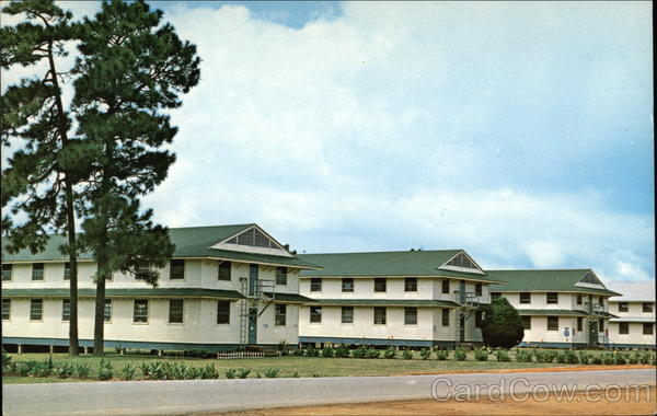 Trainee Barracks At Fort Polk Charlie Company Vietnam