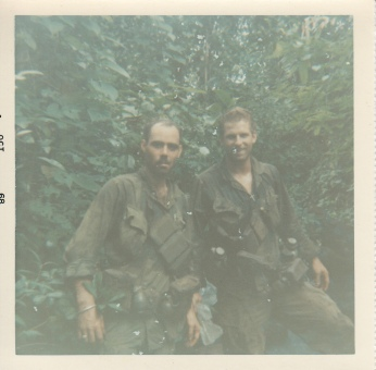 L-R; Dale Bishop, Dick Snow