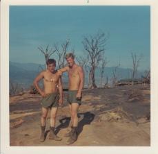 L-R; Eugene Deaton, Dick Snow