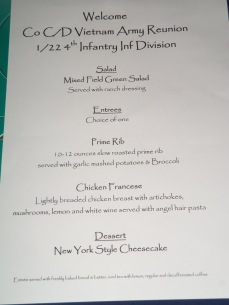 Menu at Tower of The Americas