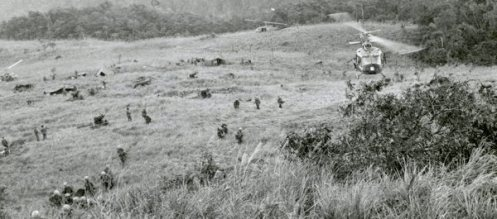 "The fight at LZ Hereford was part of Operation Crazy Horse, which began on May 15, 1966, to ""find, fix and destroy"" the enemy force. (Photo: U.S. Army Heritage and Education Center)"