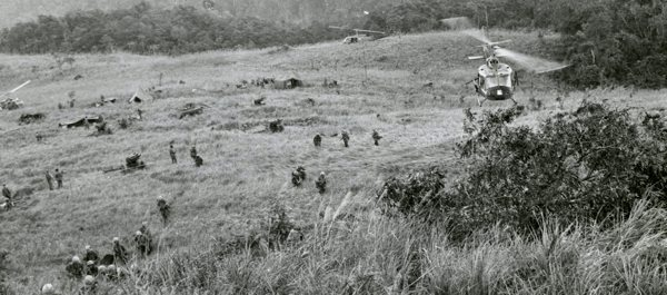 """The fight at LZ Hereford was part of Operation Crazy Horse, which began on May 15, 1966, to """"find, fix and destroy"""" the enemy force. (Photo: U.S. Army Heritage and Education Center)"""