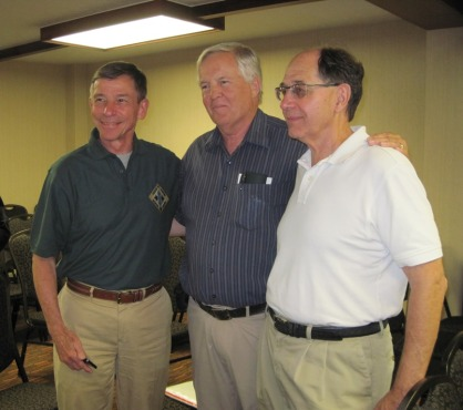 Two Captains and a Lieutenant Tom, John, Larry