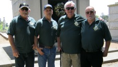 Charlie Company was represented by Jack Chavez, Mike Stokes, Fred Childs, Bill Boling