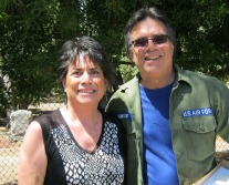 Kris and her Brother Tom Minero who spearheaded the restoration
