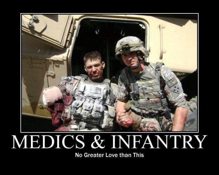 Medics and Infantry