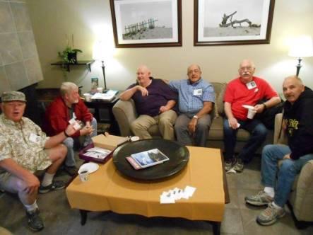 Fred, Lynn, Bud, Charlie, Mike Mac, Mike S