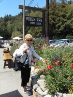 Carol in Big Sur